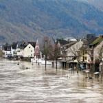 Hochwasser im Stadtteil Zell-Kaimt